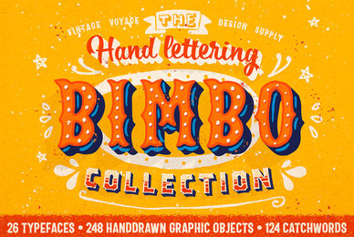 BIMBO   Hand Lettering Collection