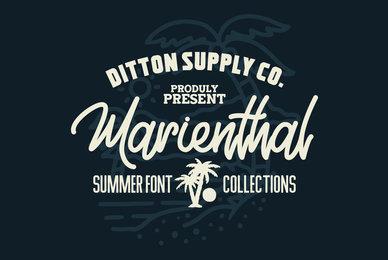 Marienthal Font Bundle
