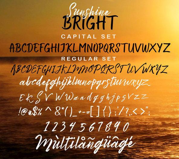 Bright Sunshine