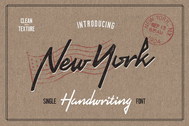 New York Handwriting