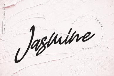 Jasmine Luxury Handwriting