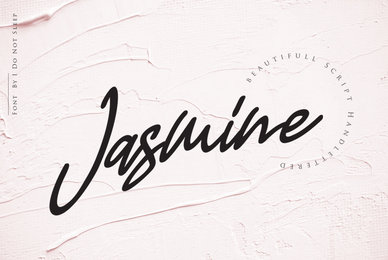 Jasmine Luxury Handwriting