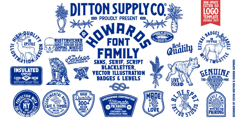 Howards Font Family