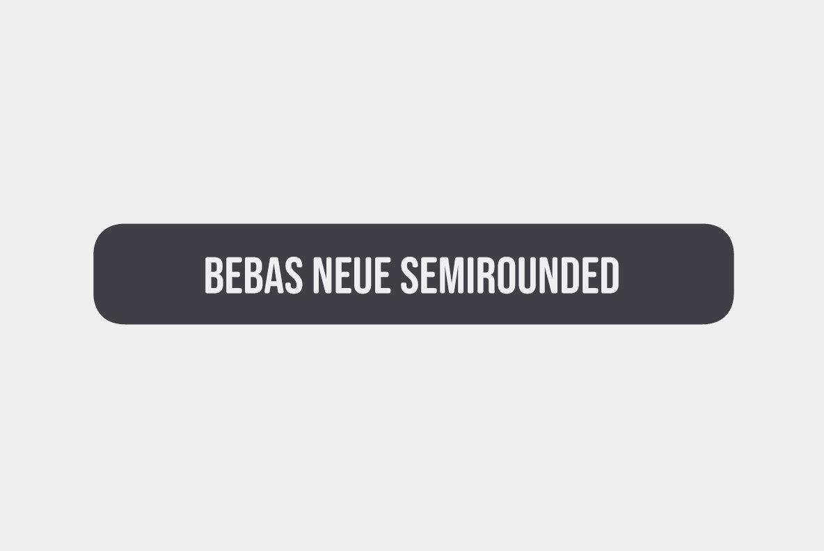 Bebas Neue SemiRounded