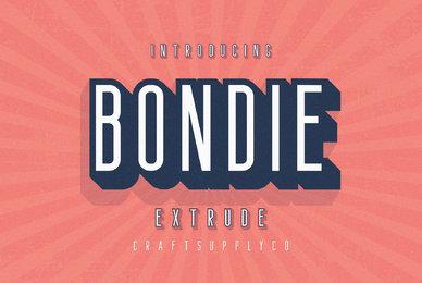 Bondie Extrude