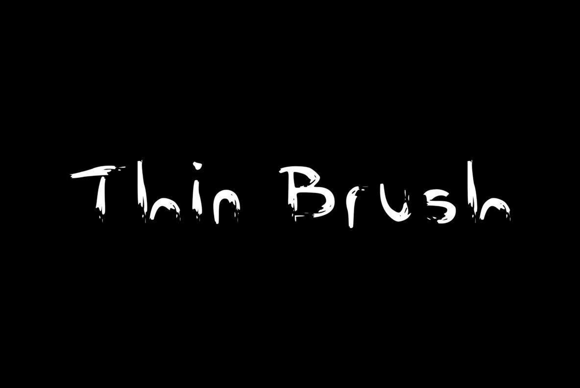 Thin Brush