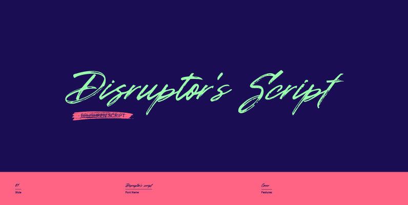 Disruptors Script