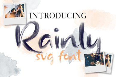 Rainly SVG Brush