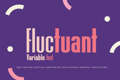 YWFT Fluctuant Variable Font