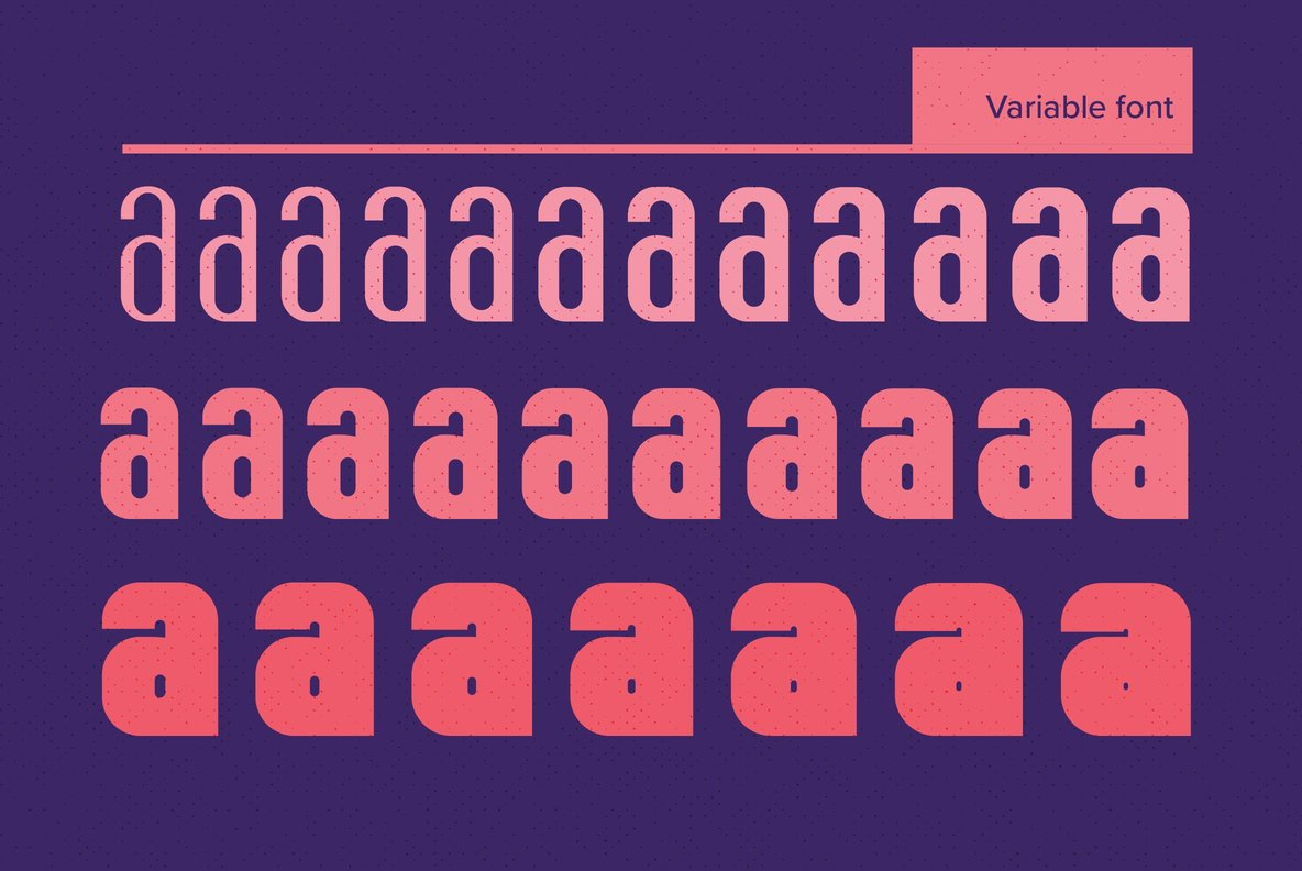 YWFT Fluctuant  Variable Font