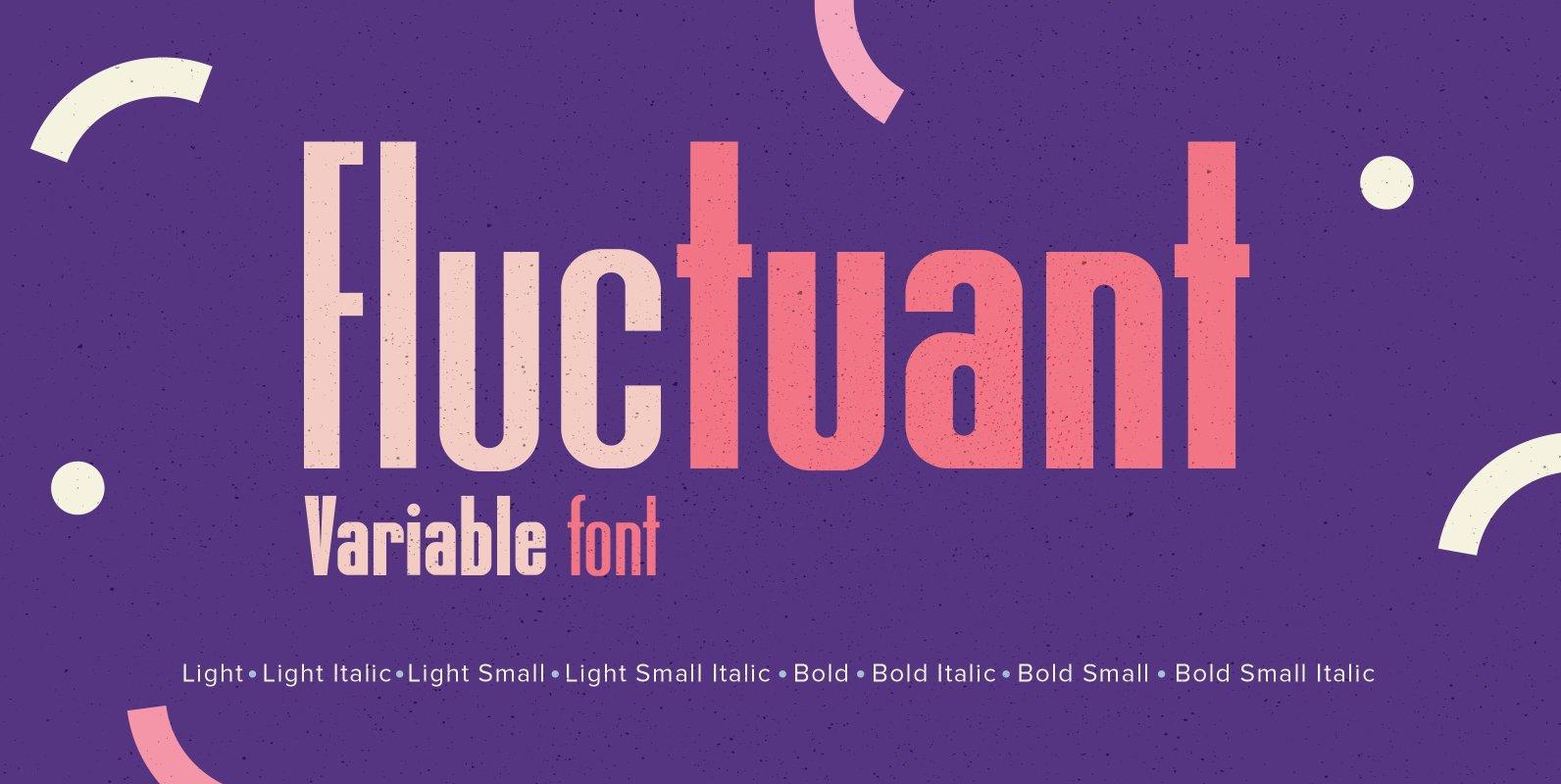 YWFT Fluctuant (Variable Font)