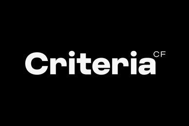 Criteria CF