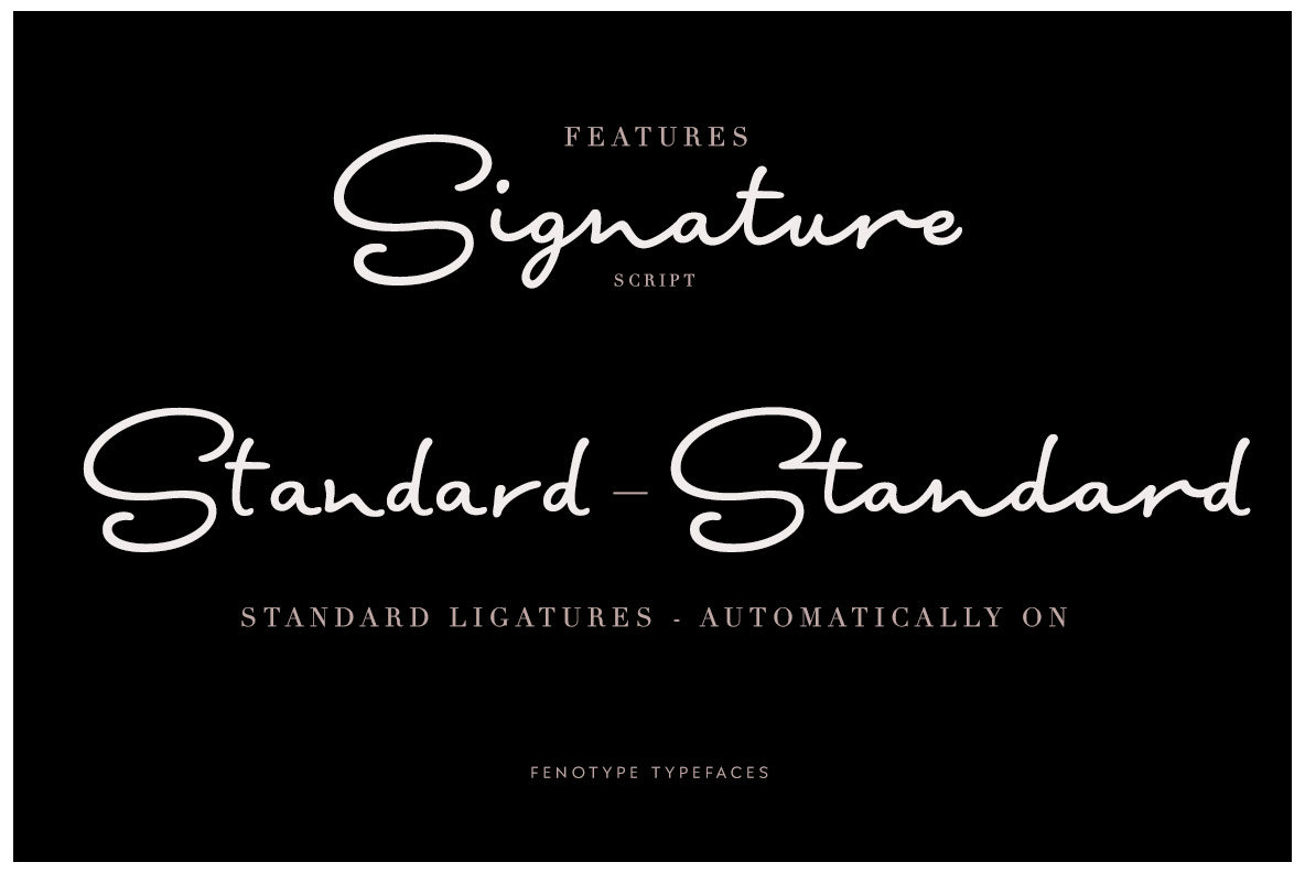 Signature Script