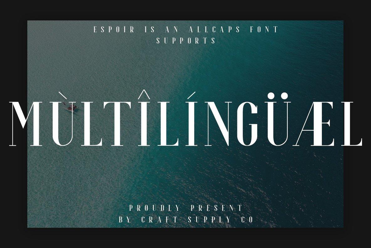 Espoir Serif