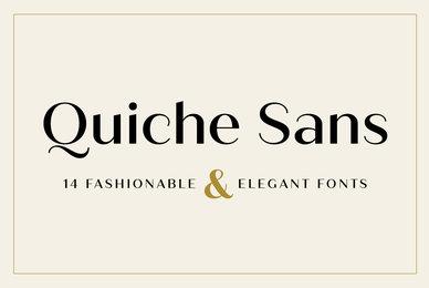 Quiche Sans