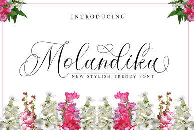 Molandika Script