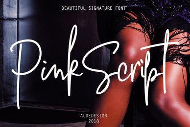 Pink Script