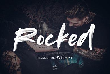 Rocked SVG Font