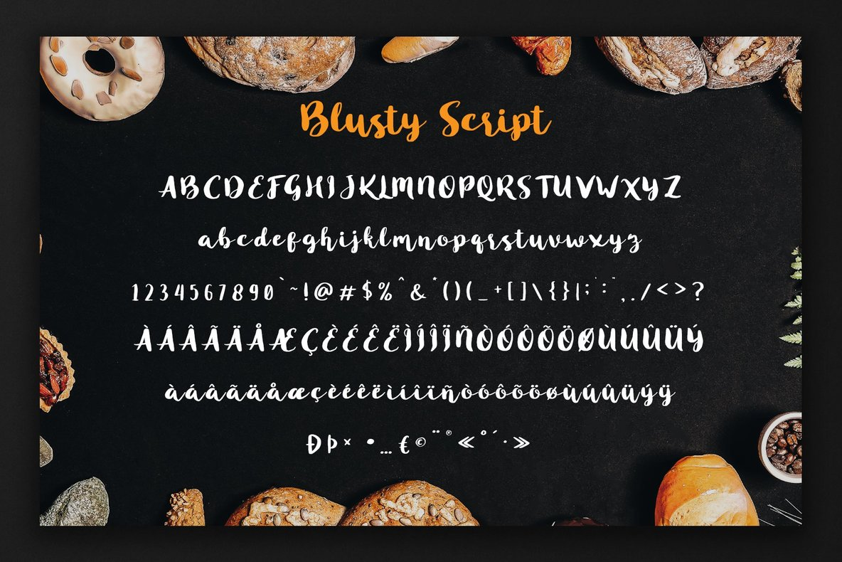 Blusty Font Duo