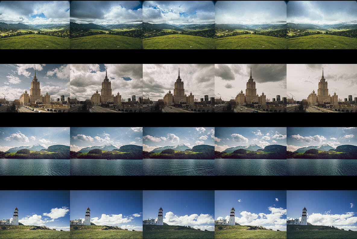 The Shift Timelapse Video Collection