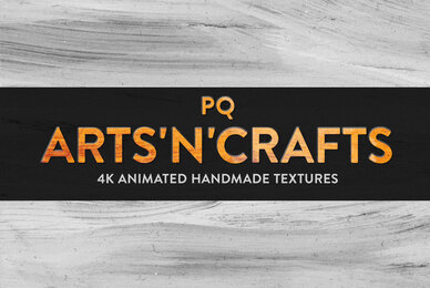 PQ Arts n Crafts Loops   4K Animated Textures