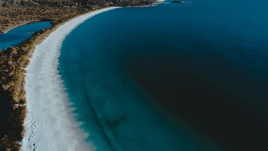 Bay of Fires Aerial 1