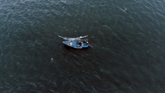 Fishing Boat Aerial