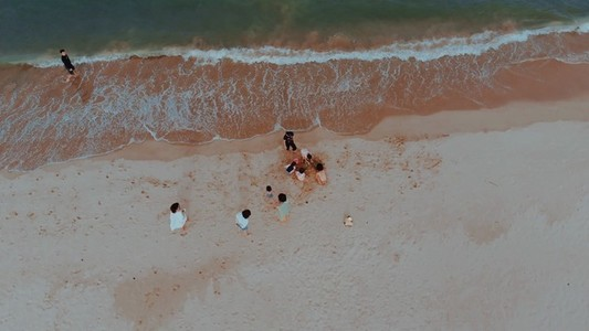 People at the Beach 3