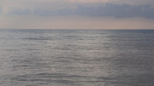 Calm sea waves