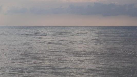 Calm sea waves