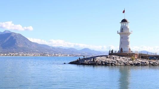 Lighthouse seascape