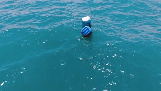 Bottles on The Ocean