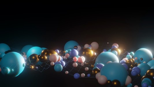 Abstract Animated Sphere Loop