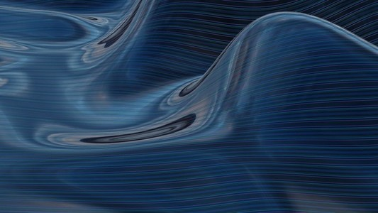 Abstract Ocean Loop 1
