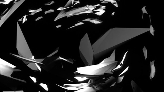 Black and White Shattered