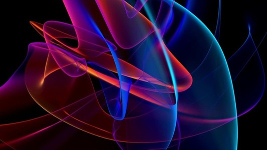 Colorful Rays Seamless Loop 14