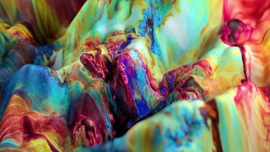 Fluid Paint Seamless Loop 14