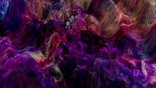 Fluid Paint Seamless Loop 23