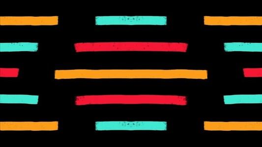 Bright Stripes Horizontal