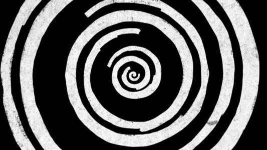 BW Paint Spiral