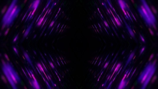 Purple hall mirrored