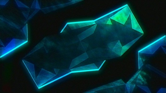 Blue Power Frame Retro