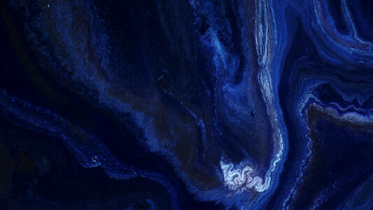 Blue Topography
