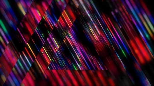 Rainbow Triangles Strobe