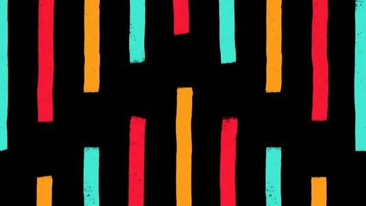 Bright Stripes Vertical
