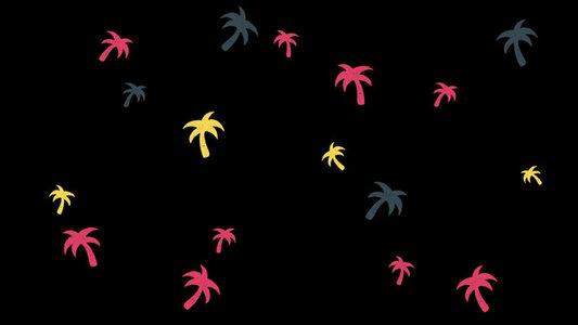 Palm Tree Scroll