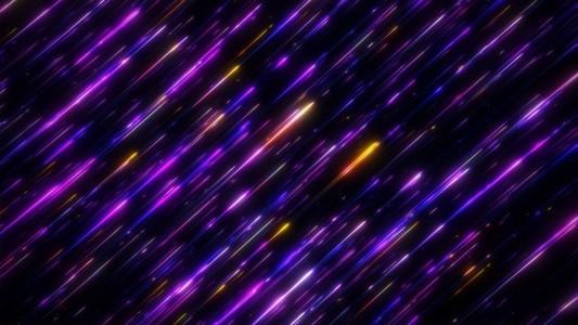 Fiber Optic Orange Purple C