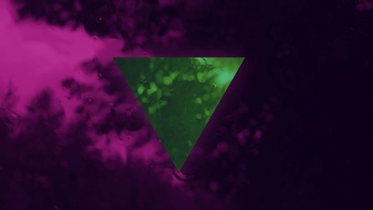 Green Pink Triangle GEO