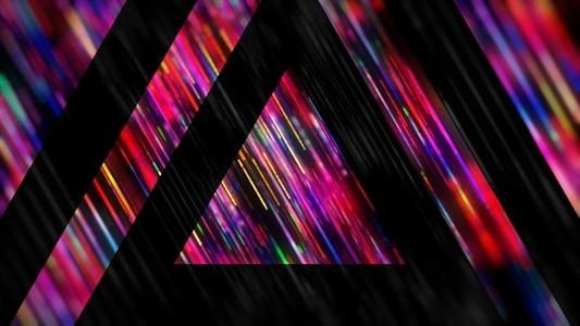 Rainbow Triangles Strobe Alt