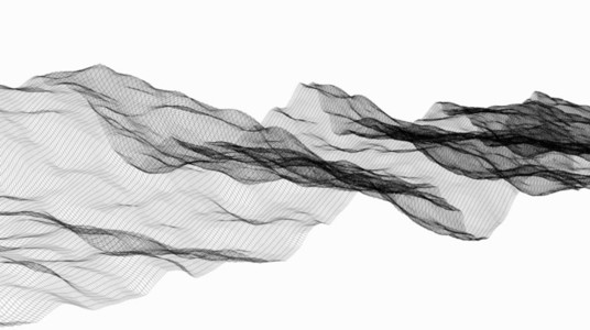 Wireframe Waves